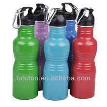400ml curvy shape Aluminum water bottles, especial shape military bottle