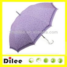nice purple color rain and sun umbrellas