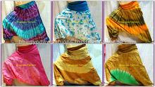 Rainbow colored pants, Indian yoga harem pants, Wholsale Price Lot