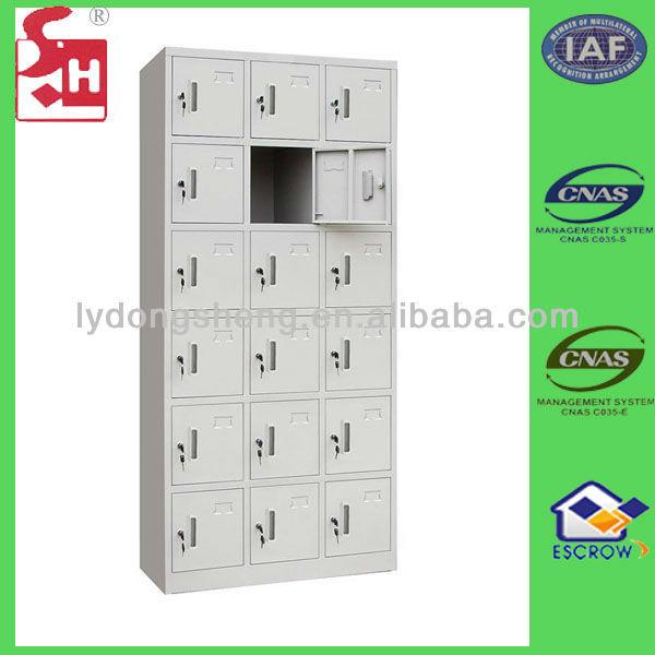 Eighteen doors mobile phone lockers
