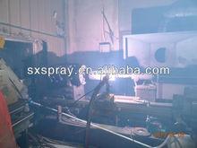 Metal surface thermal spraying