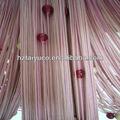 rayonnes chaîne rideau de porte avec des perles en plastique