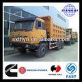 aolong 6x4 shacman camion de transport de sable