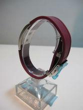 Brilliant Power Up, Health Up, Mind Up! Germanium Negative Ion Bracelet. Model: GS-017M Wine