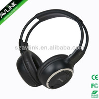Foldable infrared wireless headphones for car DVD players