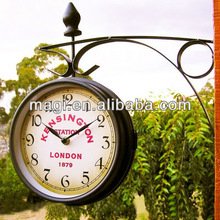 Newest Antique Hanging Double Sided Wall Clocks