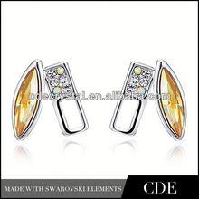HOT SELLING crystal fashion polki jhumka earrings