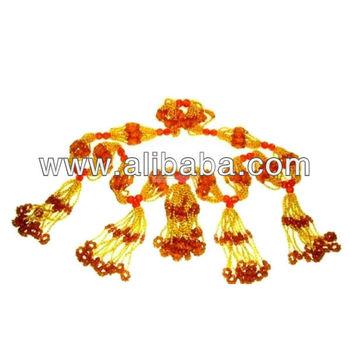 Collares de Mazo para Santeria - Oshun