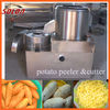 Low cost high efficient potato chips peeling and cutting machine for sale