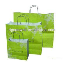 Kraft paper shopping bag alibaba china
