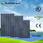 a glass top flexible solar panel installation