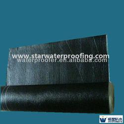 Rolling Elastomeric SBS polyester asphalt waterproofing roofing felt laminate