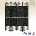 estilo nuevo y de alta calidad de la cuerda de papel chino antiguo plegable sala de pantalla de partición