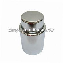 Silver plating wine bottle vacuum stopper