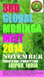 3rd Global Moringa Meet 2014