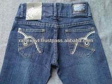 Best Embroidery Work Branded Women jeans 2013