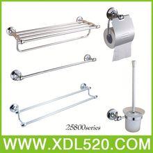 4pcs bathroom accessory/crystal bathroom accessory set/bathroom and toilet accessories