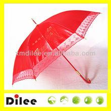 Chinese style wedding umbrella for bride