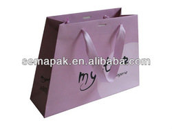 High quality customized wholesale art paper bag