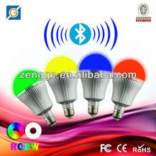 RGBW bulb led driving light,phone controlling led driving light