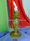 Decorative candle Holder with color