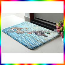 high quality beautiful shaggy microfiber floor mat