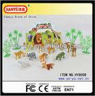 2013 Small Plastic Animal Happy Family