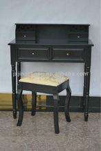Black modern carved black dressing table designs teak wood dressing table