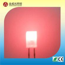 square led flat top led red LED, red color DIP LED