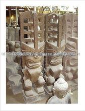 Best New Design Tiki Gods Decorative Stone Sculpture