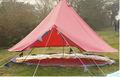 melhor qualidade boutique de acampamento ao ar livre algodão lona da tenda