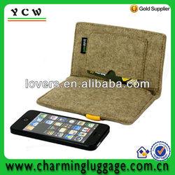 promotional felt phone pouch