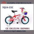 Colorido garoto bicicleta/v- freio de crianças de bicicleta com roda de treinamento/yq14-22c