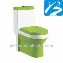 Green Color Ceramic Toilet Sanitaryware