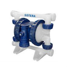 "Fill-Rite SP100-05B-PF-TTF 1/2"" PVDF, Teflon Elastomers, BSPP Air Operated Diaphragm Pump"