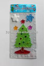 Christmas window decal gel sticker