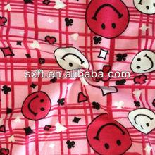 95%polyester 5% spandex 32s spun polyspun children designs printed single jersey fabrics knitted