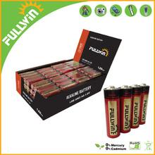 1.5v aaa am4 lr03 alkaline battery