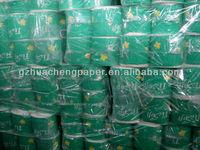 Virgin Restaurant Tissue Paper Roll/Toilet Tissue Paper(Factory)/printed toilet paper roll