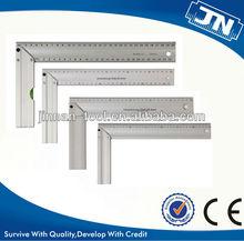 Aluminium handle with aluminium ruler square
