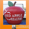 Attractive promotion giant PVC Inflatable red Apple replica