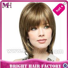wholesale wigs synthetic fiber wig/kanekalon fiber wig/full wig