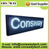 CE and RoHS passed led programmable panel screen with white color and IP65 waterproof