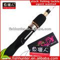 Aparejos de pesca china/de fibra de carbono caña de pescar