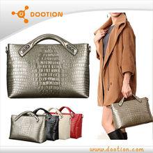 High quality Alligator genuine leather bags women
