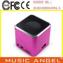 high quality sound speaker portable battery speaker vibration speaker subwoofer