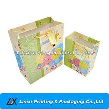 Paper children birthday/Christmas gift bag