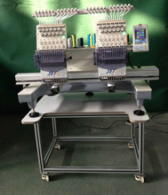 Compact Computer Embroidery Machine- two head