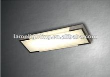 High quality minimalist rectangular aluminum ceiling lamp