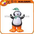 2014 novo design inflável dos desenhos animados pingüins para vendas